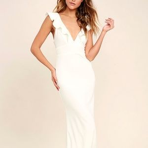 "Lulu's ""Perfect Opportunity"" White Maxi"